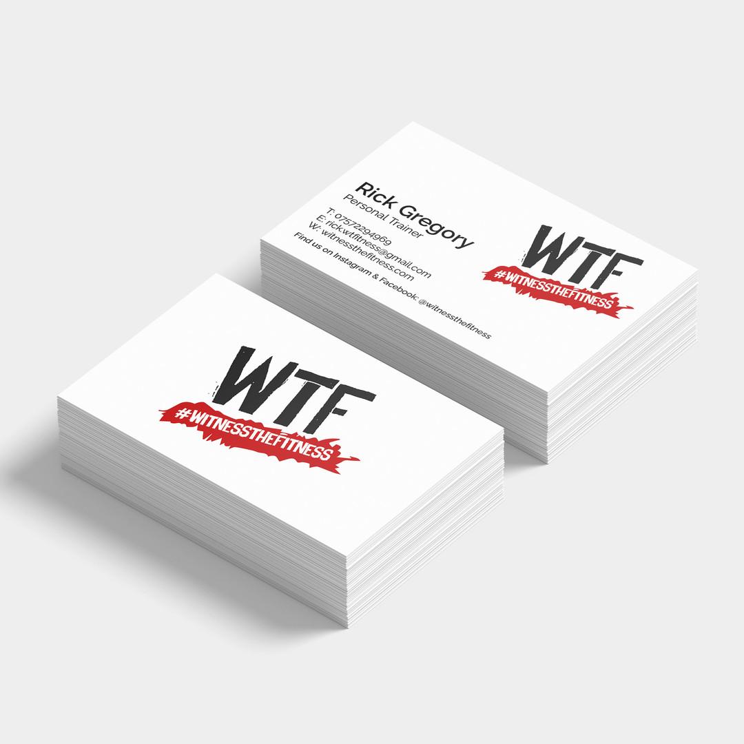WTF Branding Biz Card