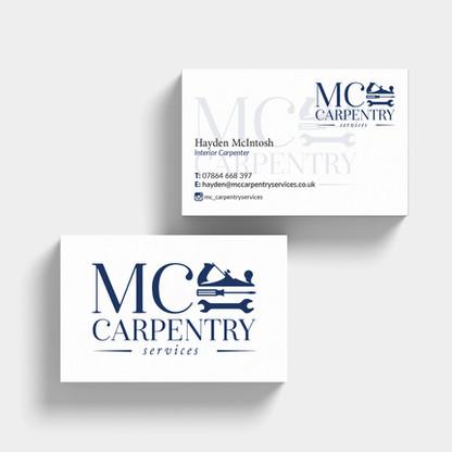 MC Carpentry branding Biz