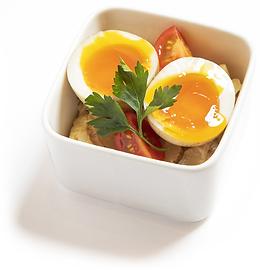 燻製卵のポテトサラダ
