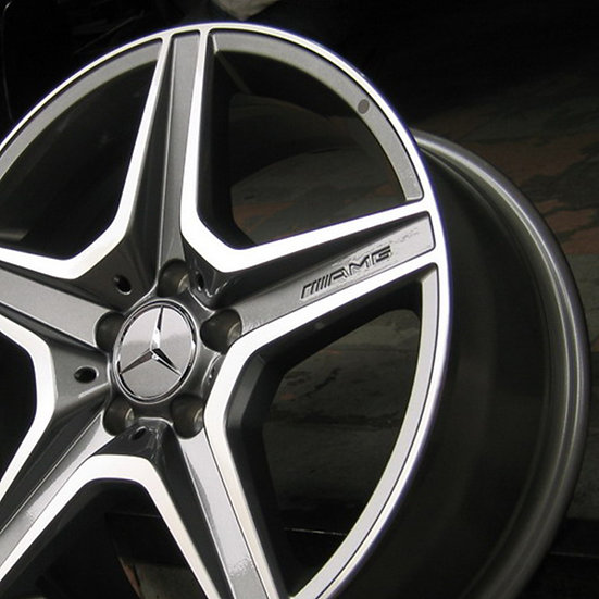 Mercedes Benz OEM and AMG Alloy Wheel Fitting Kit