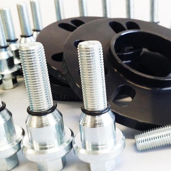 10mm HubCentric RangeRover Sport Alloy Wheel Fitting Kit 23mm Shank
