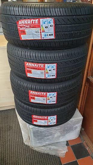 245 45 18 XL EXTRA LOAD RATED SET OF 4 TYRES