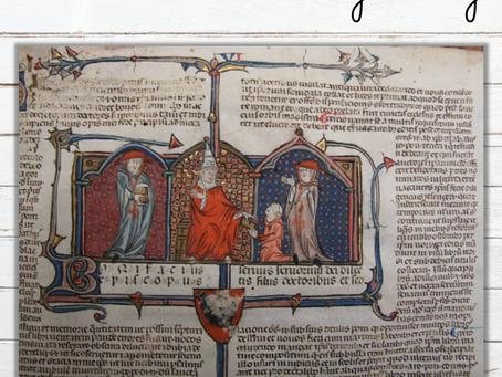 L'écriture au Moyen Âge