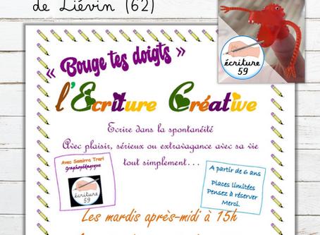 Atelier au café Nino'Kid de Liévin (62)