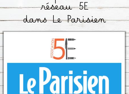 On parle du réseau 5e dans Le Parisien !