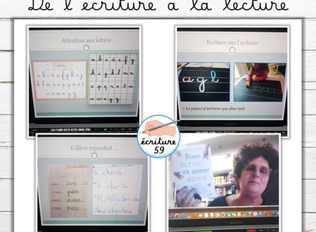 """Atelier - Formation """"de l'écriture à la lecture"""""""