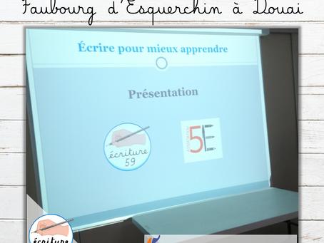 Atelier au centre social du Faubourg d'Esquerchin à Douai