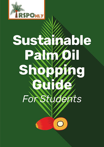 Sustainable Palm Oil Shopping Guide Fina