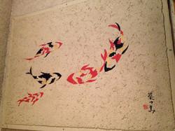 酒蔵 弍の倉庫 壁画