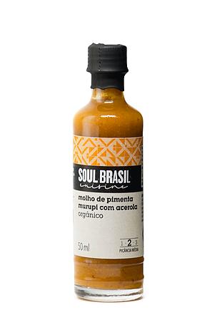 Molho de Pimenta Murupi com Acerola 50ml- SOUL BRASIL