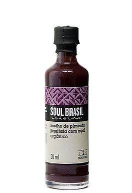 Molho de Pimenta Jiquitaia Baniwa com Açai 50ml- SOUL BRASIL