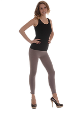 Capi Idealiper praticare attivita sportiva, piacevolie morbidial tatto. Aderenticome una seconda pelle, grande  elasticità, si adattano al corpo senza stringere.
