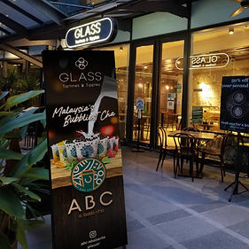 ABC Bubble Tea x GLASS