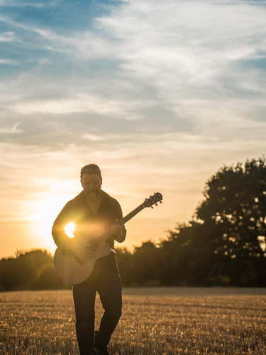 Wedding guitarist, roaming musician