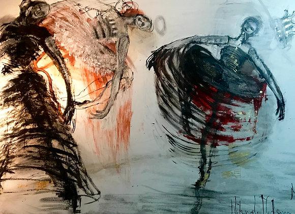 3 Dancers II, Helena de Medeiros