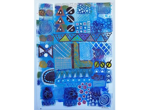 Blue, Tânia Queiroz Soares