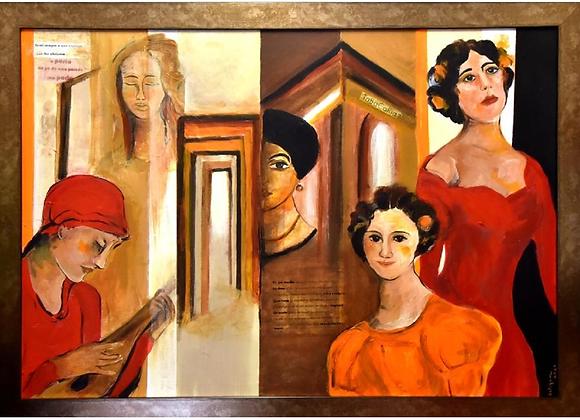 """Musas do poema """"Tabacaria"""", Clara Ferrão"""