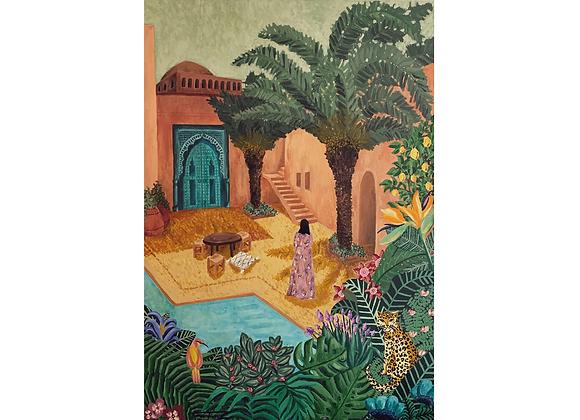 Ocher Riad, Tatiana Ferraz