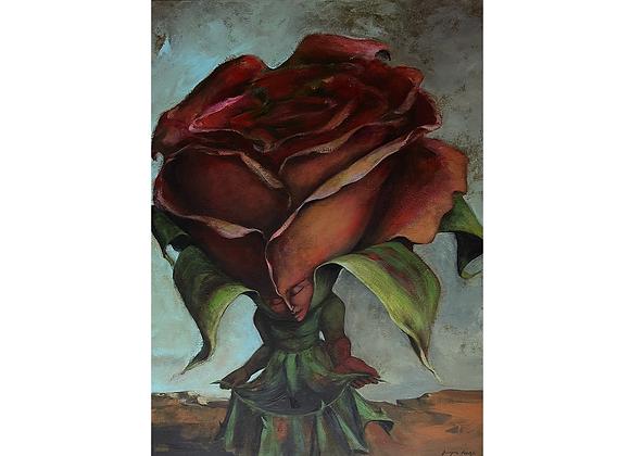 A rosa do deserto, Luzia Lage