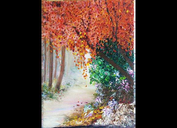 Árvores vermelhas, Cristina Magalhães