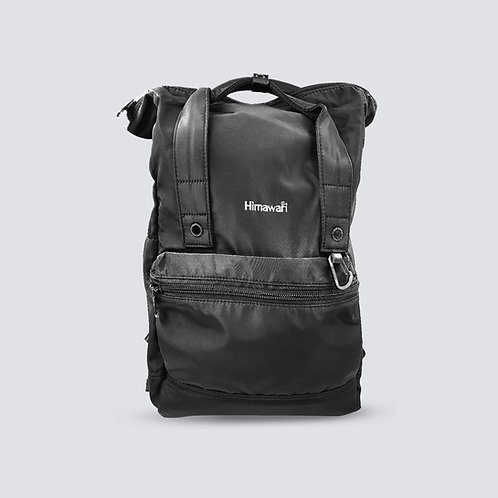 Himawari Juniper Backpack Black