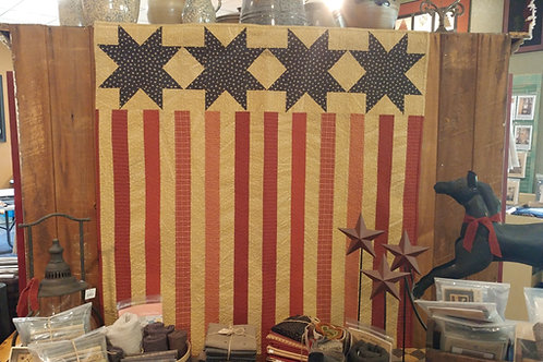 "FLAG WALLHANGING 44"" X 44"""