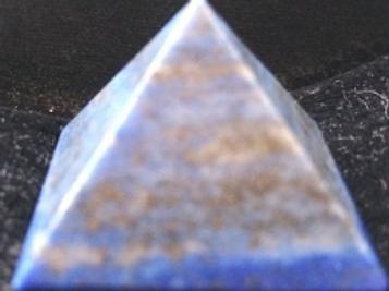 Blue Lapis Pyramid