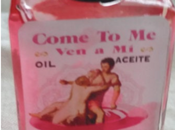 Come To Me Oil