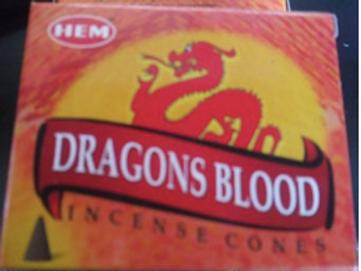 Dragons Blood Incense 10 pk
