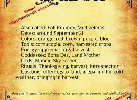 Forecast for Sept.21-30,2020