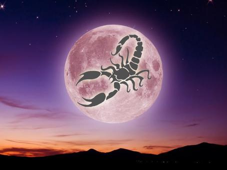 Full Moon in Deadly Scorpio