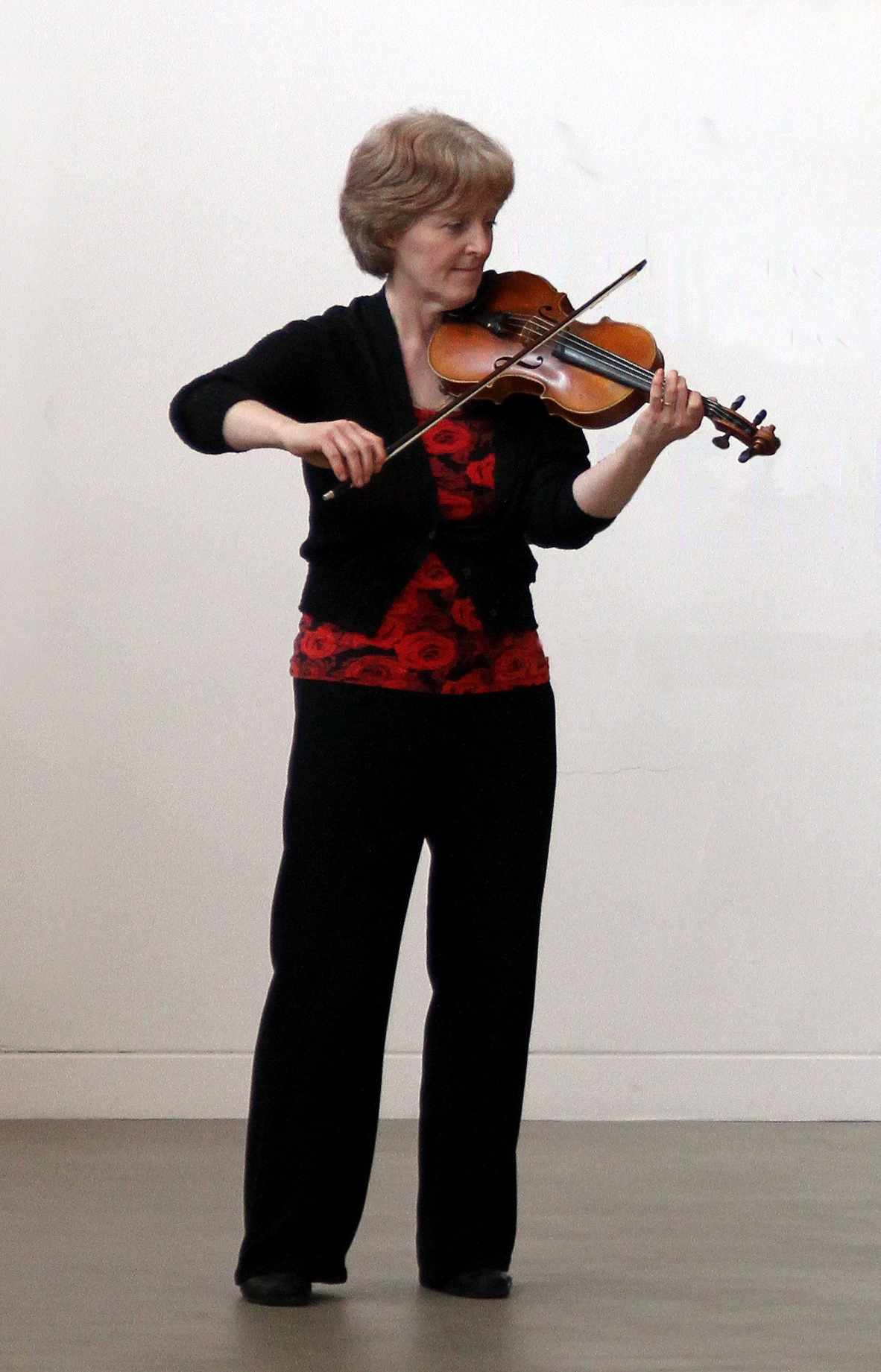 Shirley Richards, Violinist