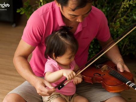 Nuôi dưỡng tình yêu âm nhạc trong trẻ