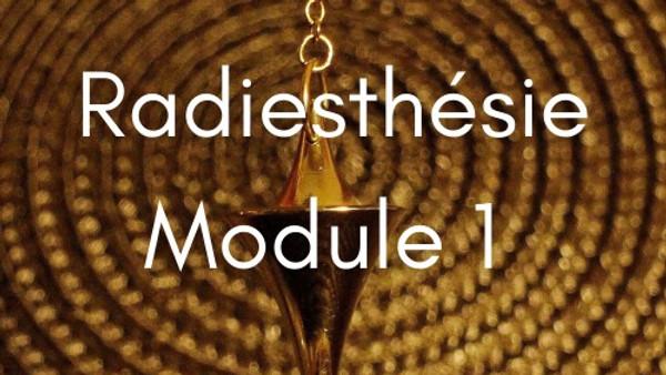 FORMATION RADIESTHÉSIE - Module 1 - 16 OCTOBRE