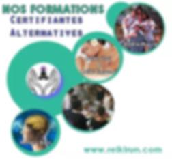 NOS FORMATION CERTIFIANTES ALTERNATIVES