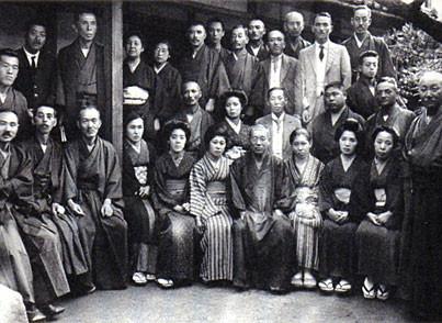 Mikao Usui Sensei et ses élèves au Japon