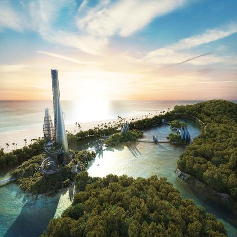 Caiguire-Al Island \ Tower