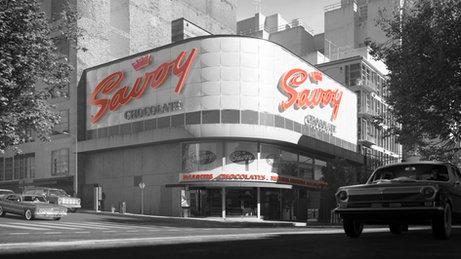 Show Set Design   Savoy