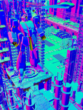 SciFi Experiment_V2_GUNDAM_NORMALS.jpg