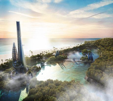 Conceptual Design Caiguire-Al Island \ Tower