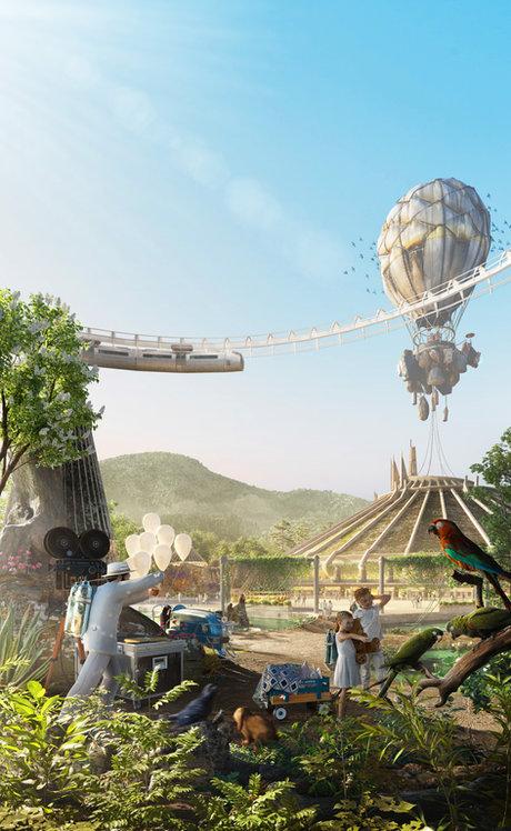 Conceptual Design   Alter-Tomorrow: Bio-Park