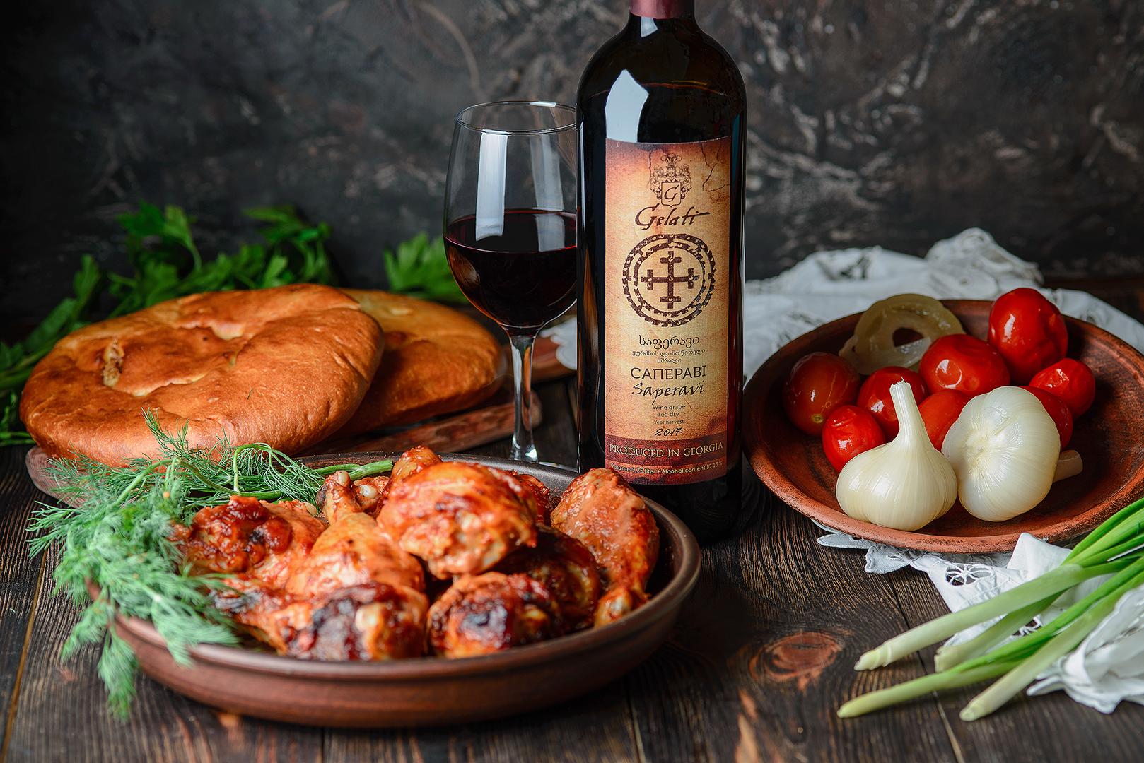 Вино Гелати Саперави