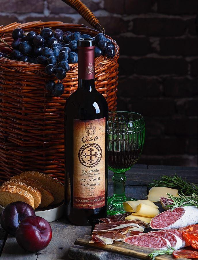 Вино Гелати Мукузани