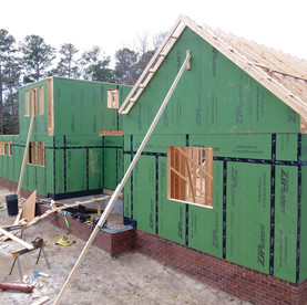 the roof is getting framed, more zip panels have been installed