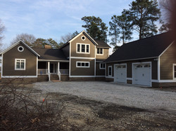 2800 sq ft waterfront home.  Mathews, VA