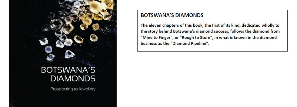 Botswana's Diamonds byMichael C. Brook.J