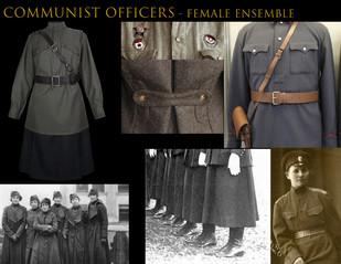 Communist Officers - Female Ensemble