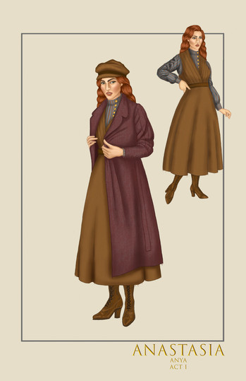 Anya, Act I, from the musical Anastasia