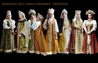 Prologue - Romanov Court - Female Ensemble