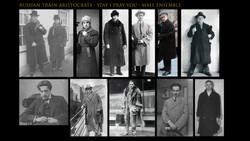Russian Train Aristocratic Men - Male Ensemble